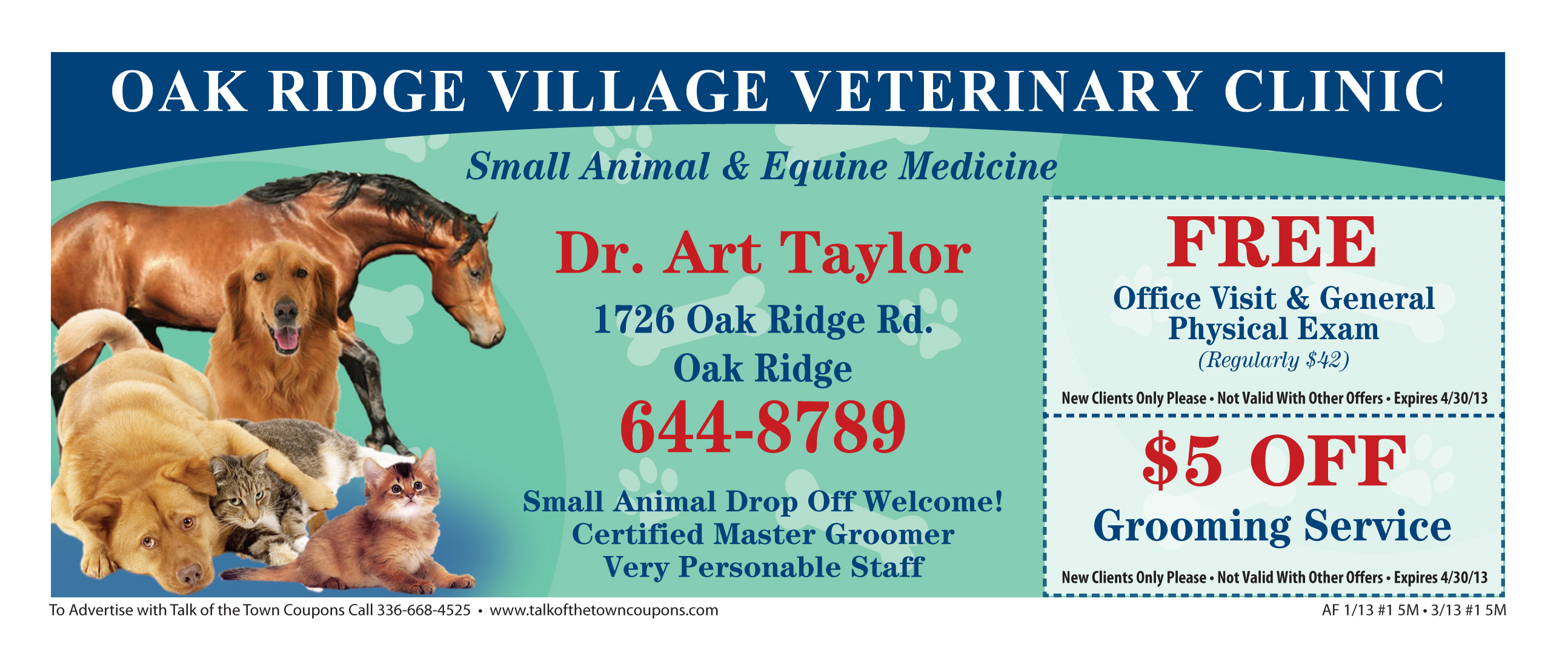 Village Vet Booklet Offer Image