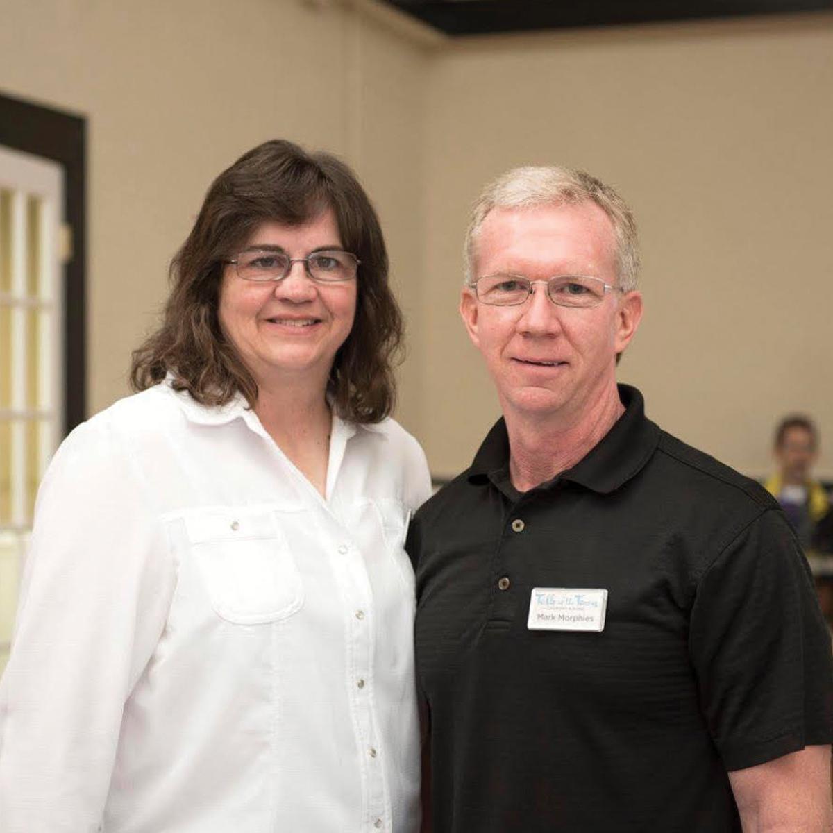 Mark and Lisa Morphies